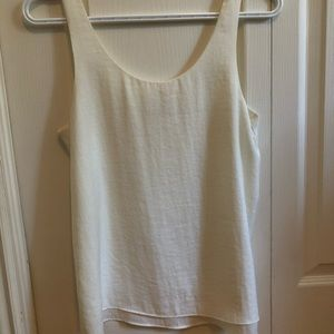 A blouse like tank top